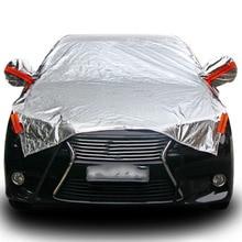 Водонепроницаемый Размеры M/L/XL внедорожник Полный Обложка автомобилей Защита от солнца снежной пыли Дождь Устойчив серый для грузовых автомобилей