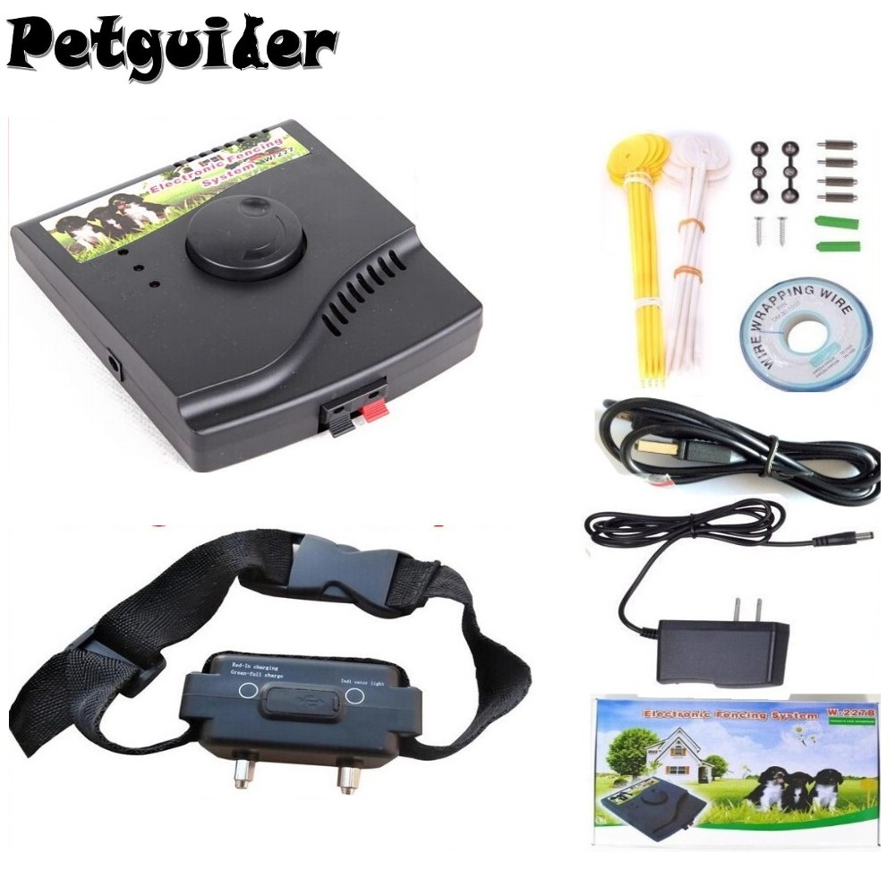 1dog Underground Waterproof Rechargeable Pet Electric fence Shock ...