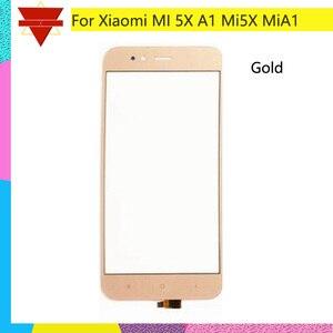 Image 4 - 10 шт./партия оригинальный Mi 5X Для Xiaomi Mi A1 5X Mi5X сенсорный экран Датчик ЖК дисплей дигитайзер Переднее внешнее стекло