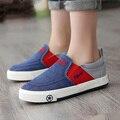 Бренд дизайнер дети обувь мальчики обувь воздухопроницаемый мокасины мальчики брезент обувь дети удобные свободного покроя обувь мальчики