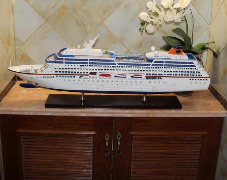 Columbo Craft Boat Large Luxury Cruise Ship Model Gift Decoration - Columbo cruise ship