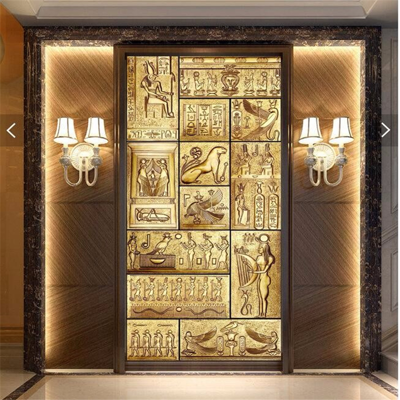 Online buy wholesale ancient egyptian culture from china for Egyptian wallpaper mural
