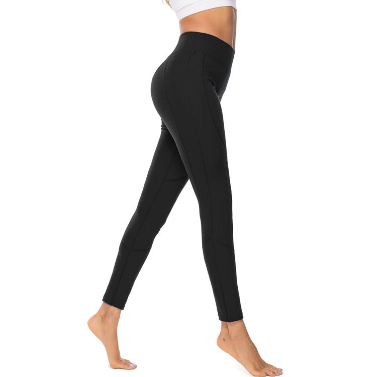 High Waist Solid Color Sports Elastic Sexy Push Up Running Jogger Workout Fitness Leggings Mujer Streetwear Pants in Leggings from Women 39 s Clothing