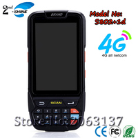 Cheapest Factory price 4.0inch 4G Android 7.0 1D Barcode Scanner Industrial PDA With Wifi/GPS/BT4.0