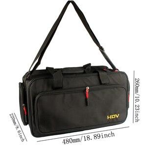 Image 2 - PorHD Professional HDV bag Video Camera Camcorder DV Bag for Panasonic HC MDH2GK K AG DVX200MC AG UX180MC AG UX90MC HC MDH2GK