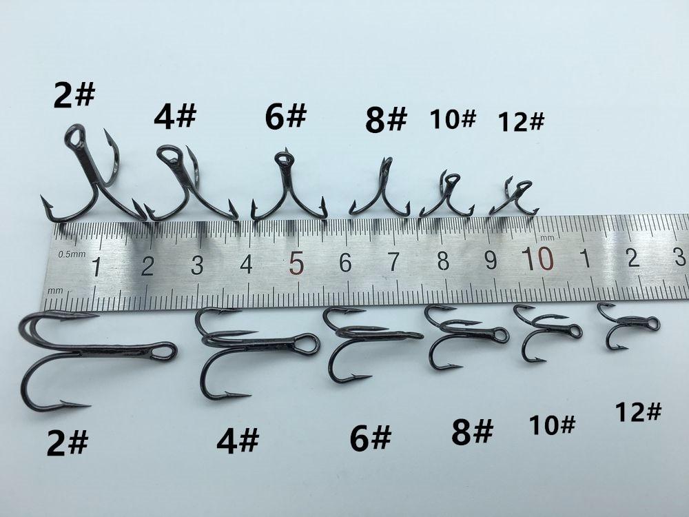 Размеры рыболовных крючков и их виды