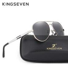 KINGSEVEN Men HD Polarized Sunglasses Aluminum Magnesium Driving Sun Glasses Men