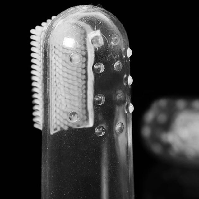 Brosse à doigts en Silicone Super Soft   10 pièces par lot, brosse à dents pour chien chat, soins buccaux avancés, lingette dentaire de nettoyage pour animaux de compagnie, vente en gros