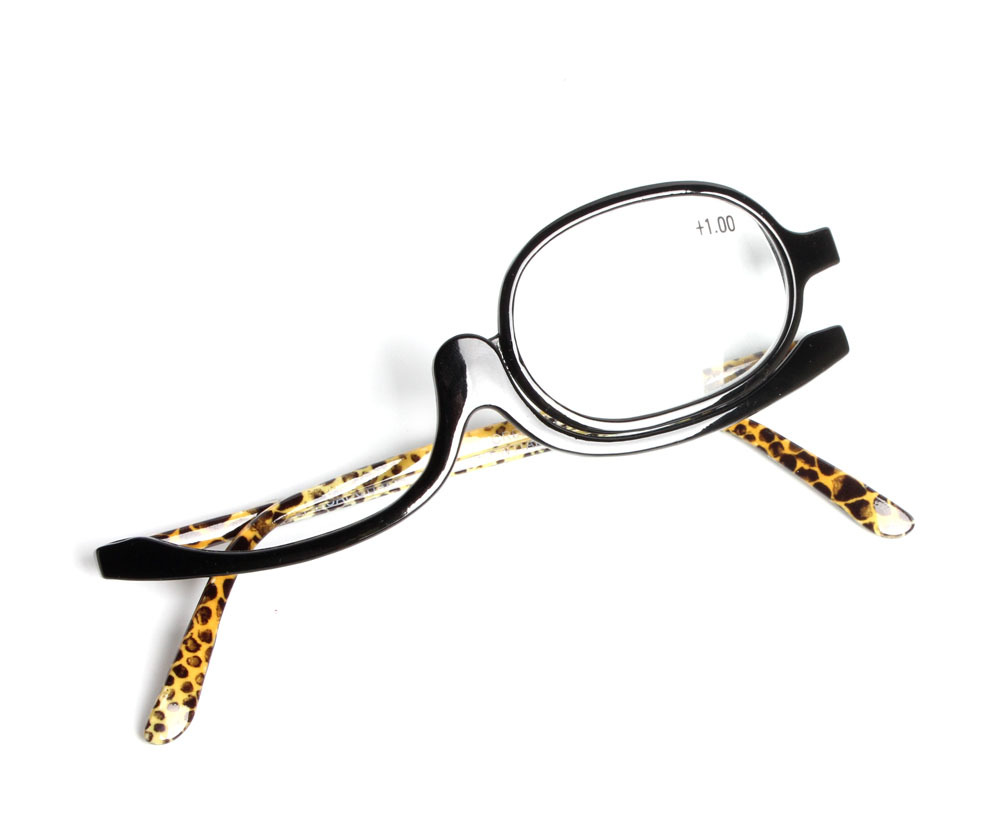 Apparel Accessories Brazil Hot Selling Fashion Women Cosmetic Glasses Making Up Reading Glasses Makeup Glasses Rotatable Frame Ladies Reading Glass 100% Original