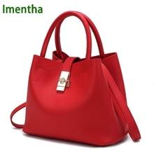 Famous Brand Fashion Candy Women Bags Mobile Messenger Ladies Handbag red PU Leather High Quality Diagonal Cross Buns Mother Bag
