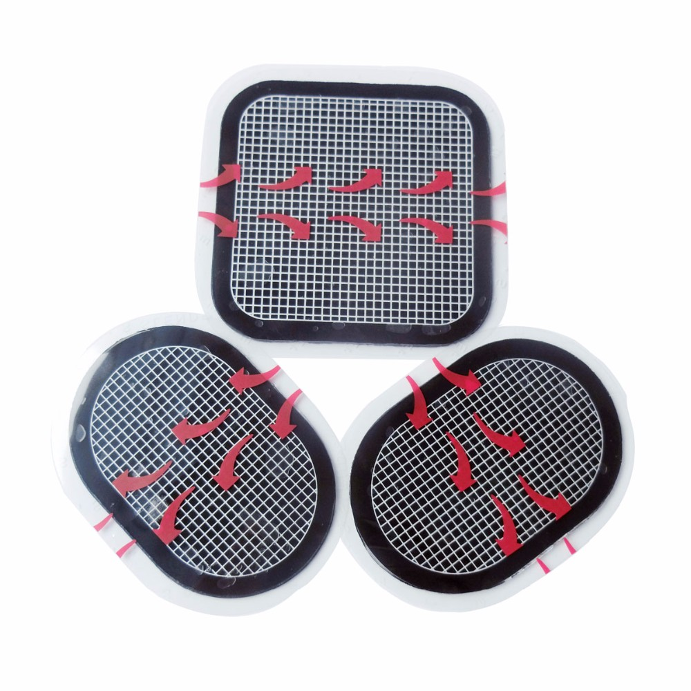 Eco friendly Reusable ABS Belt Gel Pad Unisex Waist Replace Pads Massage belt Self Adhesive Electrodes