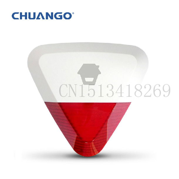 ФОТО Chuangkesafe Chuango 315Mhz WS-280 Wireless Outdoor Strobe Siren for home security alarm system G5/A11/B11