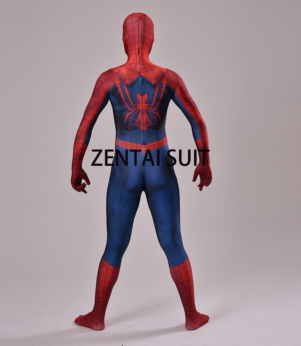 Մանկական մեծահասակների Spiderman - Կարնավալային հագուստները - Լուսանկար 6