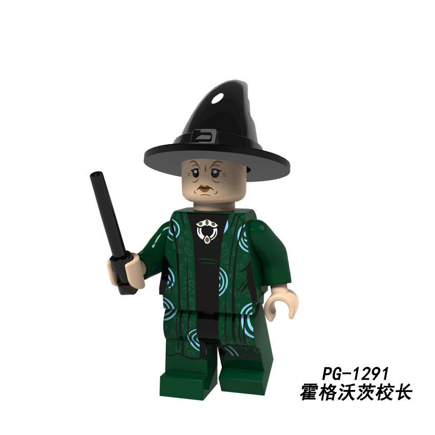 Legoings 71022 Harry Potter Figures Hermione Granger Lord Voldemort Ron Draco Malfoy Building Blocks Bricks Toys Christmas Gift #5
