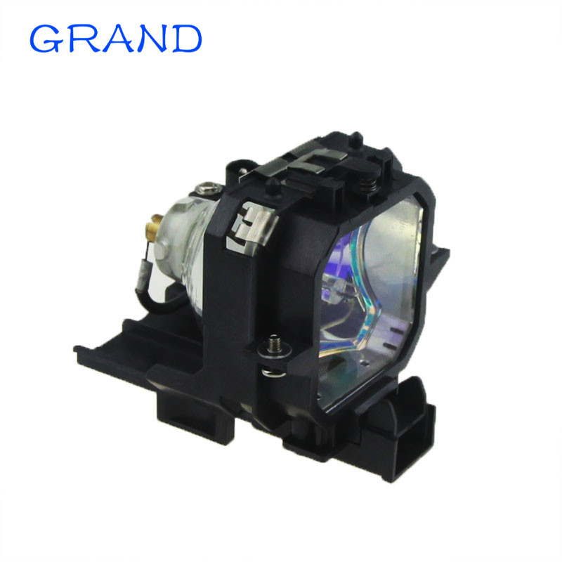 ELPLP27/ELPLP21 Replacement projector lamp with housing for EPSON PowerLite-54c EMP-54C/EMP-74/74c  HAPPY BATE replacement projector lamp with housing elplp23 v13h010l23 for epson emp 8300 emp 8300nl powerlite 8300i powerlite 8300nl