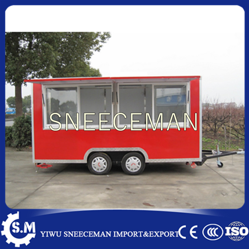 Mobile Food Concession Trailer Ice Cream Food Trailer