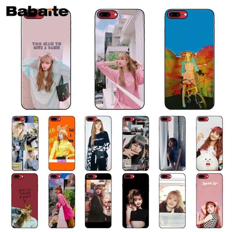 Babaite Blackpink Lisa Lisa Nette Diy Gemalt Telefon Zubehör Fall Für Iphone 8 7 6 6s Plus 5 5s Se Xr X Xs Max Coque Shell