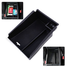 DWCX New Car ABS Plastic Center Console Armrest Storage Box Container Tray 21 x 16.1 7.1cm Fit For Hyundai Tucson 2016 2017