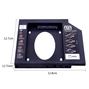 "CHIPAL 5 шт. Пластик Универсальный SATA 3,0 2nd HDD Caddy 12,7 мм для 2,5 ""2 ТБ чехол для SSD, HDD корпус для Тетрадь ODD DVD/CD ROM|hdd caddy 12.7mm|2nd hdd caddycaddy 12.7mm | АлиЭкспресс"