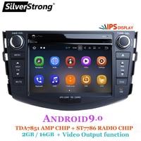 SilverStrong Android 9.0 IPS car dvd player for Toyota RAV4 Rav 4 2007 2008 2009 2010 2011 2 din 1024*600 gps navigation wifi