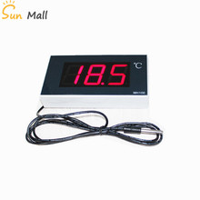 2.3 inch Large Screen Digital Waterproof Temperature Thermometer  Large Greenhouse Bathroom Cold Storage Temperature Display saipwell gm1361 2 5 inch screen digital temperature
