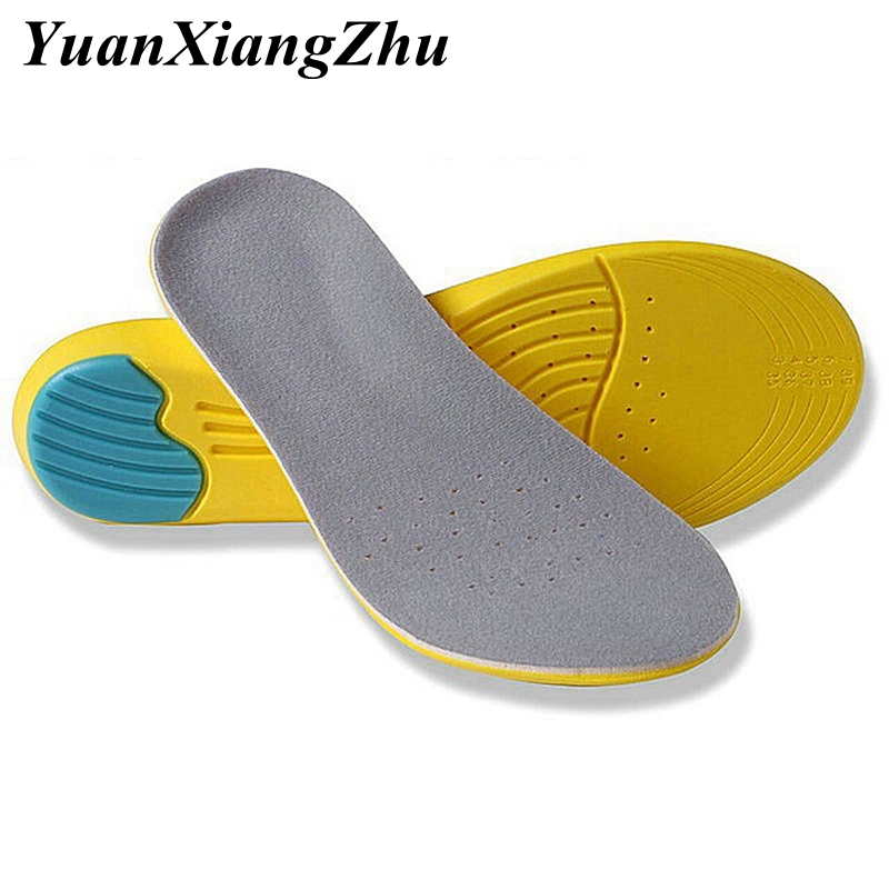 Sport Insoles Shoes Insole Sweat Absorption Pads Running Sport Shoe Inserts Breathable Memory Foam Insoles Foot Care Unisex HD1
