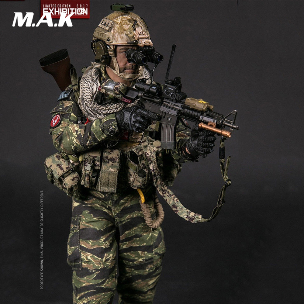 For Collection 1/6 Scale Full set 78049 SHCC 2017 Exhibition Version NSWDG in Afghanistan Box Action Figure Model for Fans Gift купить недорого в Москве