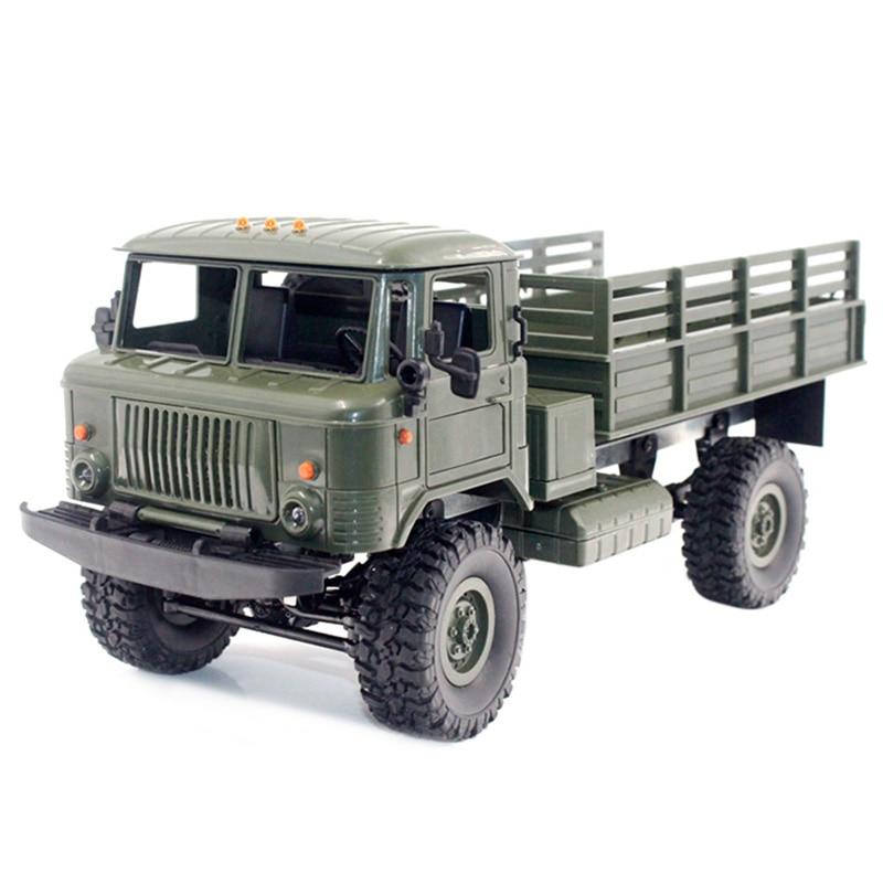 WPL B-24 GAZ-66 1:16 RC escalade camion militaire Mini 2.4G 4WD tout-terrain RC voitures tout-terrain voiture de course RC véhicules RTR cadeau Rc jouet