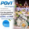 POVI  30w 50w LED grow Lamp True Full Spectrum Led Hydroponics Grow Light  for Flower Plant,Herbs,Vegetable/greenhouse