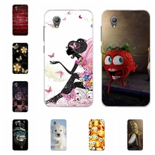 For Alcatel 1 5033D 5033 Case Thin Soft TPU Silicone 5033A Cover Animal Patterned 5033X 5033Y Capa