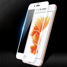 9D Protective Glass on the For iPhone 6 6s 7 8 plus  glass full cover Screen Protector Tempered