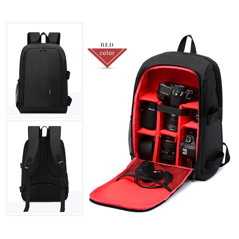 Waterproof Multi-functional Digital DSLR Camera Backpack Bag Case for Outdoor Photography Backpack for Canon/Nikon/Sony etc waterproof multi functional camera backpack cover video digital dslr bag outdoor camera photo bag case for nikon for canon dslr