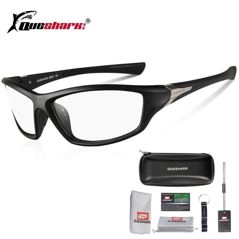 Queshark Photochromic Cycling Sunglasses Bicycle Bike Glasses Outdoor Sport MTB Bicycle Bike Goggles Bike Racing Glasses Eyewear