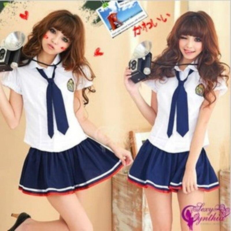 Japanese Korean School Uniform Set Student Uniform Tie Skirt Cute Female Student Uniform Sailor Suit Performance Set