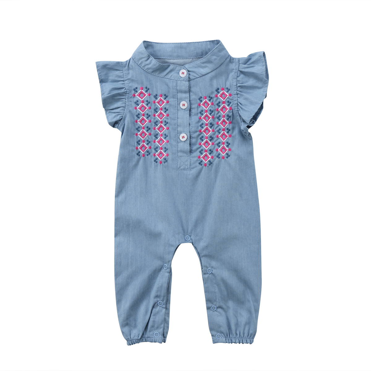 Infant Newborn Baby Girls Clothing Rompers Flower Sunsuit Playsuit Short Sleeve Jumpsuit Romper Outfit Clothes Baby Girl 0-24M newborn infant baby girls boys rompers long sleeve cotton casual romper jumpsuit baby boy girl outfit costume