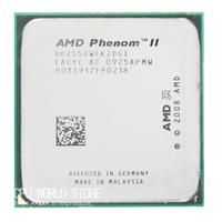 AMD Phenom II X2 550 Dual Core CPU Processor 3 1Ghz 6M 80W 2000GHz Socket Am3