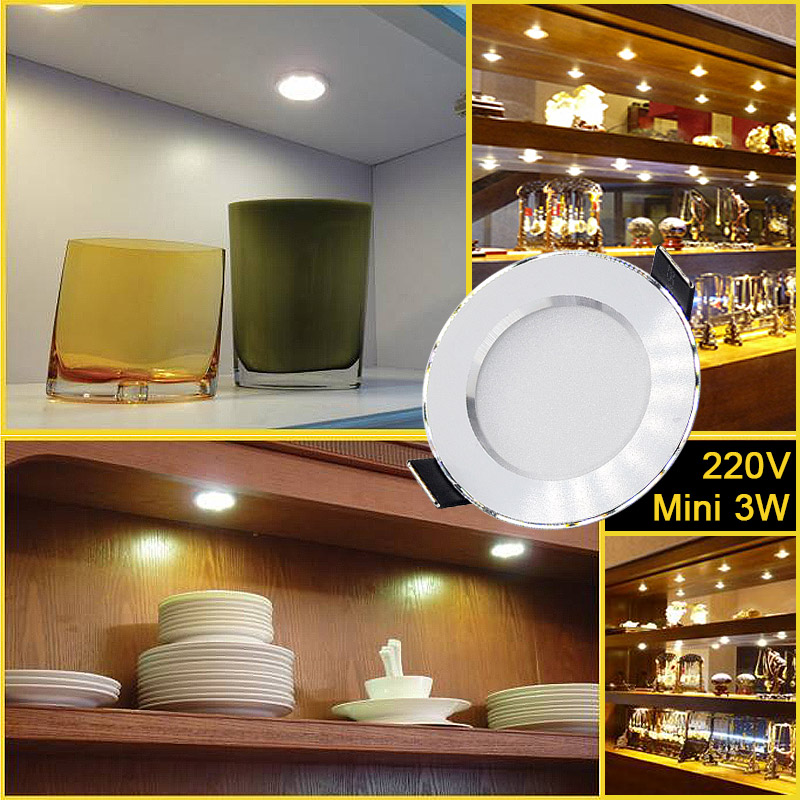 cheapest 10pcs lot Led Downlights 18W 15W 12W 9W 7W 5W 3W 110V 220V Ceiling Downlight 2835 Lamps Leds Ceiling Lamp Home Indoor Lighting