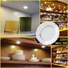 10pcs lot Led Downlights 18W 15W 12W 9W 7W 5W 3W 110V 220V Ceiling Downlight 2835 Lamps Leds Ceiling Lamp Home Indoor Lighting discount