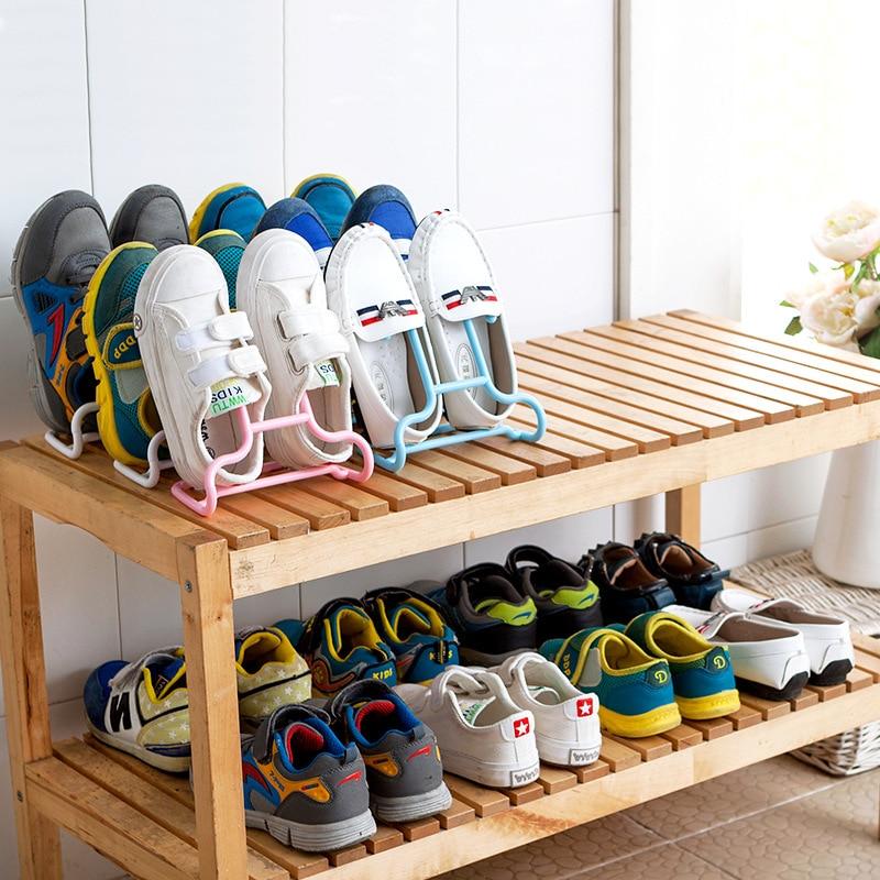 Detail Feedback Questions About 2pcs Set Children Kids Shoes Hanging Storage Shelf Drying Rack Shoe Stand Hanger Wardrobe Organizer On Aliexpress