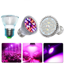 18W 28W 30W full specturrm LED Grow Light Bulb E27 AC85-265V Aquarium LED Indoor Plant Growing Lamp Lights for plants Flower Hot(China)