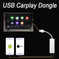 Xe New Đài Phát Thanh Apple CarPlay Android Auto liên kết USB Dongle với Màn Hình Cảm Ứng Kiểm Soát đối với Android Auto iPhone Navigation DVD hệ thống