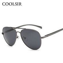 COOLSIR 2017 Brand Men Sunglasses Fashion Cool Polarized Men Sunglasses Male Driving Sun glasses for men Vintage Oculos 8024