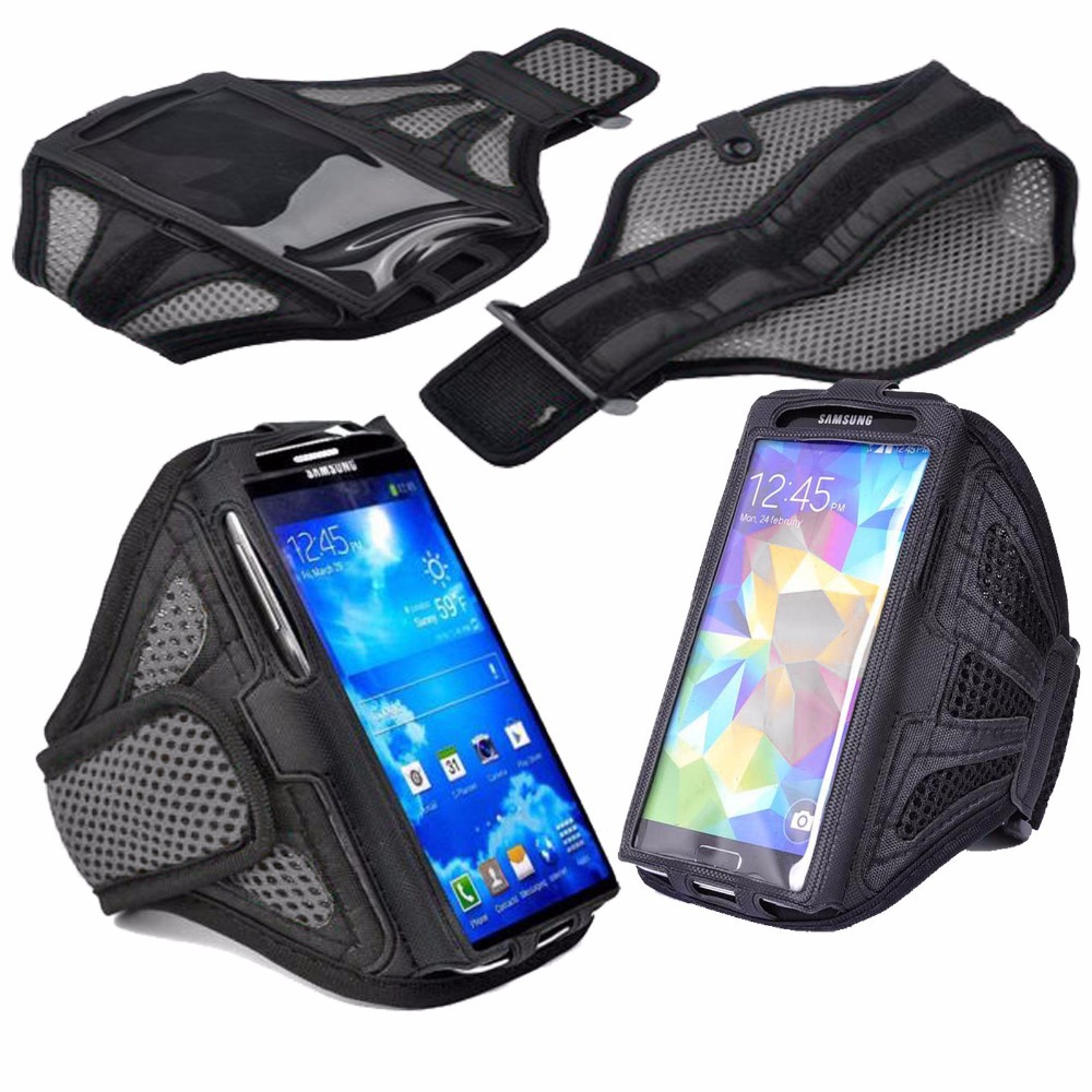 5afa9e1cc26 Mobile Phone Brassard Sport Running Jogging Net Fabric Armband Case Arm  Band Brazalete Deportivo for Samsung Galaxy S3 S4 S5 S6-in Armbands from  Cellphones ...
