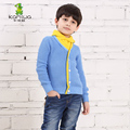 Kamiwa 2016 New Spring Autumn Baby Kids Boys Knitted Sweater Thin Coat Children Teen Clothing Full Leisure Clothes freeshipping