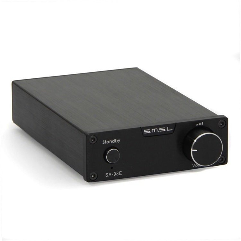 SMSL SA-98E audio amplifier 2.1 kelas d penguat TDA7498E hifi mini power amplifiers amplificador audio