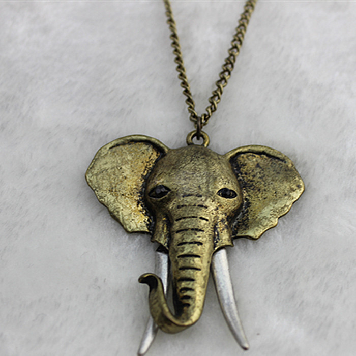 Bohemian girl romantic gifts wholesale ancient necklace elephant bohemian girl romantic gifts wholesale ancient necklace elephant head free shipping in pendants from jewelry accessories on aliexpress alibaba aloadofball Image collections