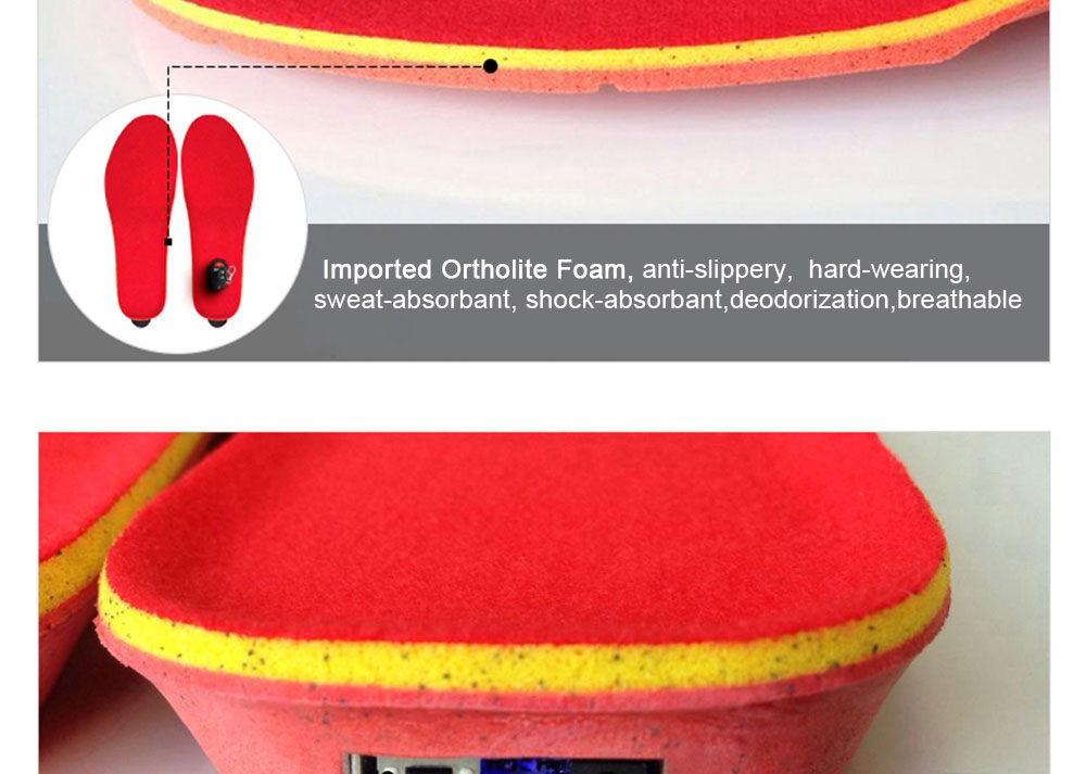 Wireless Controll Electric Heated Insoles_08