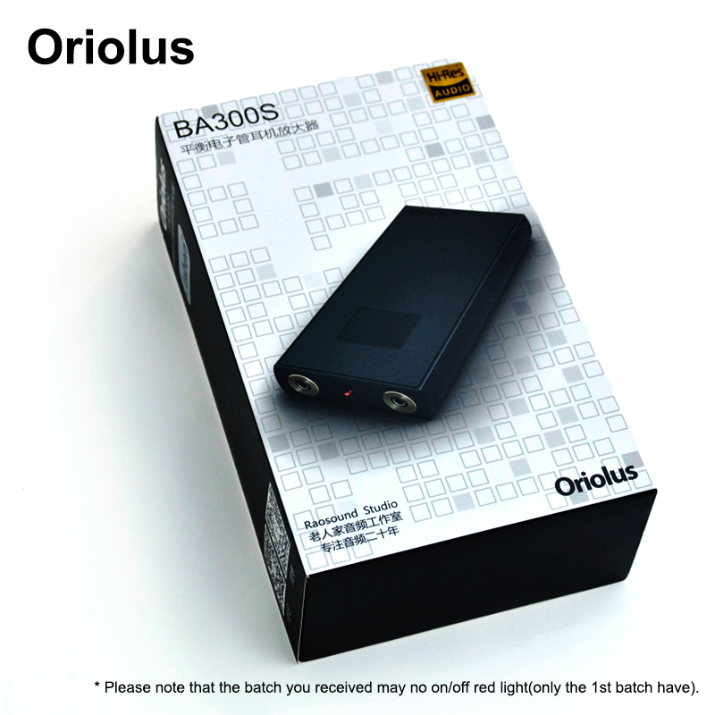 Oriolus BA300S 4.4mm balanced Tube Headphone Amplifier Bile Tube Amp