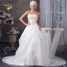 Jeanne Love Strapless Wedding Dresses Lace 2019 Bridal Dress Vestido De Noiva Robe Mariage Trouwjurken Hochzeit JLOV75971