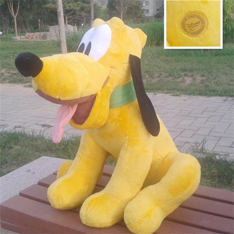 1pcs 50cm 19 5inch big size huge pluto stuffed doll Original Pluto Dog Plush Toys Doll